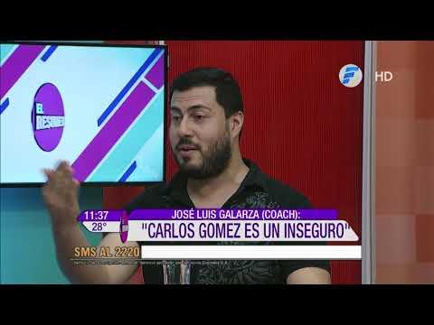 ¡Carlos Gómez enfrenta al coach José Luis!