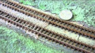Ballasting N Gauge Folding Model Railway Part 21  By Shed Engineering