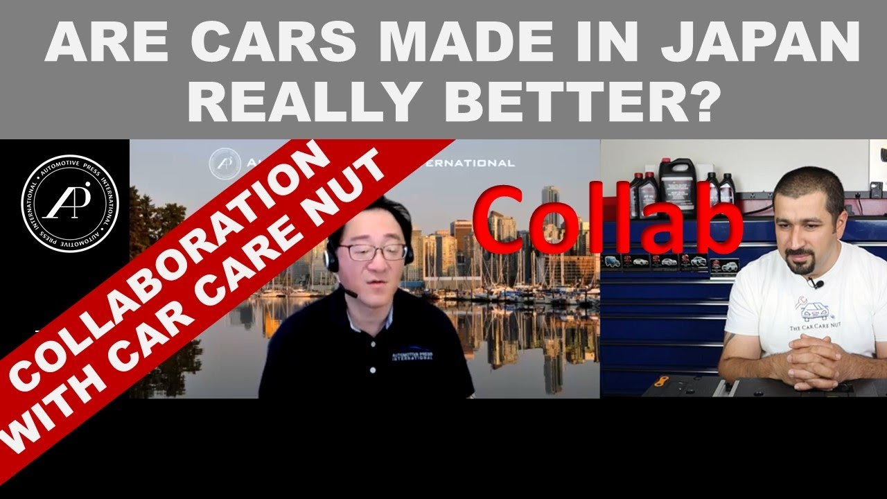 TOYOTA CARS MADE IN JAPAN HAVE BETTER QUALITY? Answer is in Collaboration Video with Car Care Nut