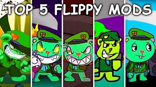 Top 5 Flippy Mods - Friday Night Funkin'