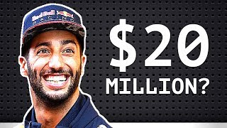 """Ricciardo Offered $20M by McLaren? - Renault Targeting Chinese Driver - Red Bull is """"Huge Pressure"""""""