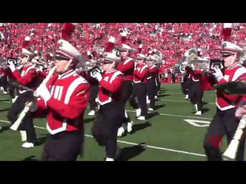 Wisconsin Marching Band Pre-Game 9-30-17