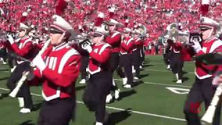 Wisconsin Marching Band Pre Game 9 30 17