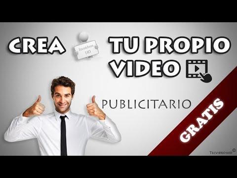 Crear un video publicitario o anuncio publicitario GRATIS Y FACIL | 3 mejores Paginas WEB