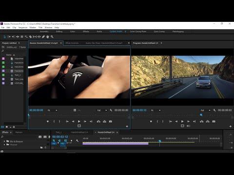 [Hướng dẫn] Bài 20: Chuyển cảnh và Keyframe trong Premiere Pro CC 2015