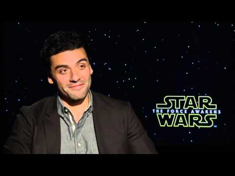 Star Wars The Force Awakens - Oscar Isaac Interview