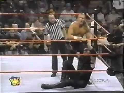 The Undertaker vs Hunter Hearst Helmsley w/D-Generation X: Raw is War 9/29/97