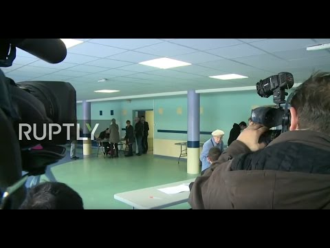 LIVE: French 2017 presidential elections: Le Pen casts vote