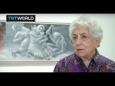 Showcase: Palestinian artist Samia Halaby at Ayyam Gallery Dubai