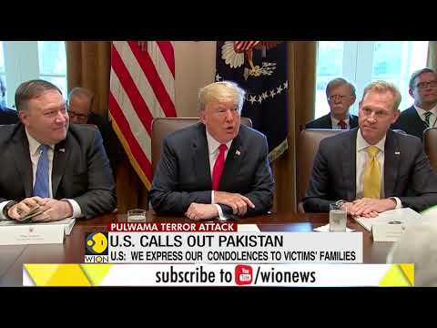 US condemns Pulwama attack, tells Pakistan to stop supporting terror