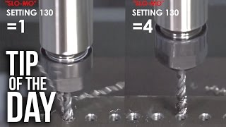 Faster Tapping with Setting 130 – CNC Milling Haas Automation Tip of the Day
