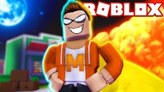HOW TO BE A SUPER HERO IN ROBLOX! (Heroes of Robloxia [Mission 1]) #1