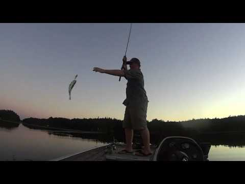 Bass Fishing Seeley's Bay Ontario