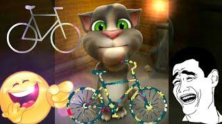 Kaun disha me leke chala re cycliya by Tom cat 🐱 very funny full of comedy and fun entertainment