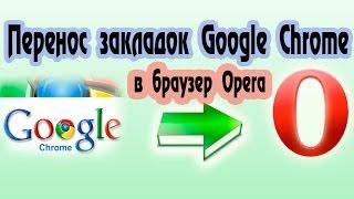 Как импортировать закладки из Google Chrome в Оперу(, 2014-04-01T18:53:53.000Z)