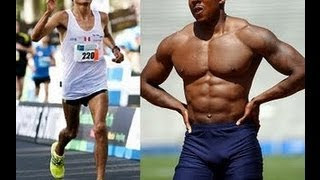 Sprinting vs Distance with 2 Time Olympian Jamie Nieto - RawBrahs