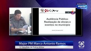 Audiência pública 20/08/2019 - Shows e eventos em Botucatu