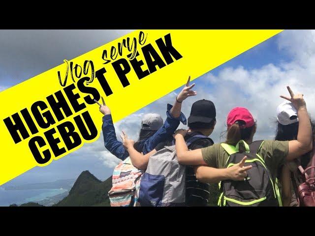 We're going on the highest PEAK ! - Osmena Peak Cebu to Kawasan Falls