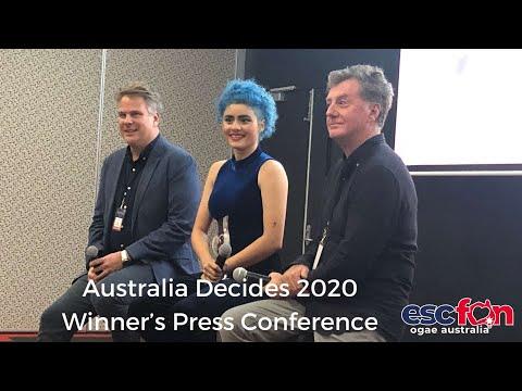 Australia Decides 2020 Winner's Press Conference