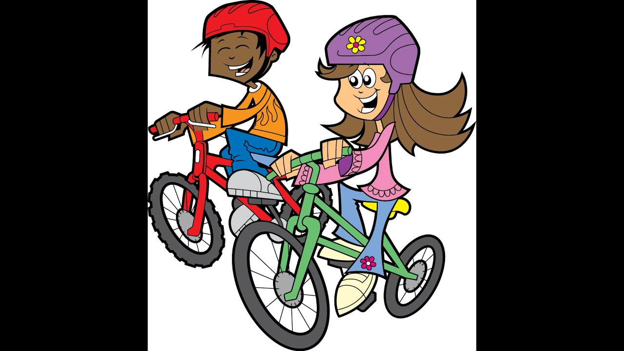 bicycle cartoon for kids
