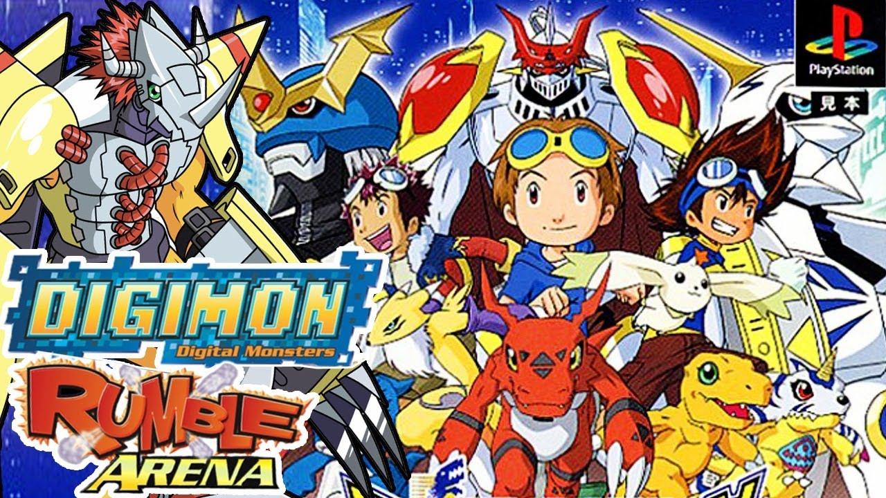Jugando Digimon Rumble Arena Stream por Marco Hayabusa