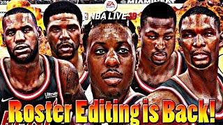NBA Live 18 | New Roster Edit Gameplay!!! 2010 OKC Thunder vs. 2011 Miami Heat NBA Finals Xbox One X