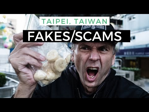 Taipei, Taiwan-Fake Monks And Other Tourist Scams
