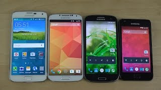 Android 5.0 Lollipop: Samsung Galaxy S5 vs. Galaxy S4 vs. Galaxy S3 vs. Galaxy S2 - Which Is Faster?