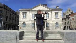 #180sec Montréal: auf der Demo mit Jacques, dem Pressefotografen