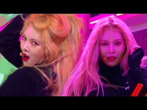 《Comeback Special》 HyunA(현아) - Lip & Hip(립앤힙) @인기가요 Inkigayo 20171210