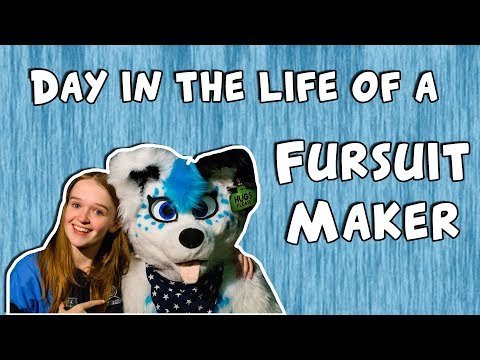 A day in the life of a fursuit maker!