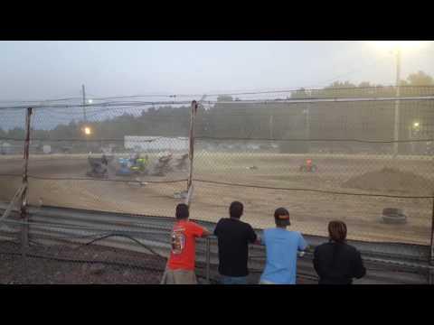 600 open feature 7/23/16  Limerock Speedway
