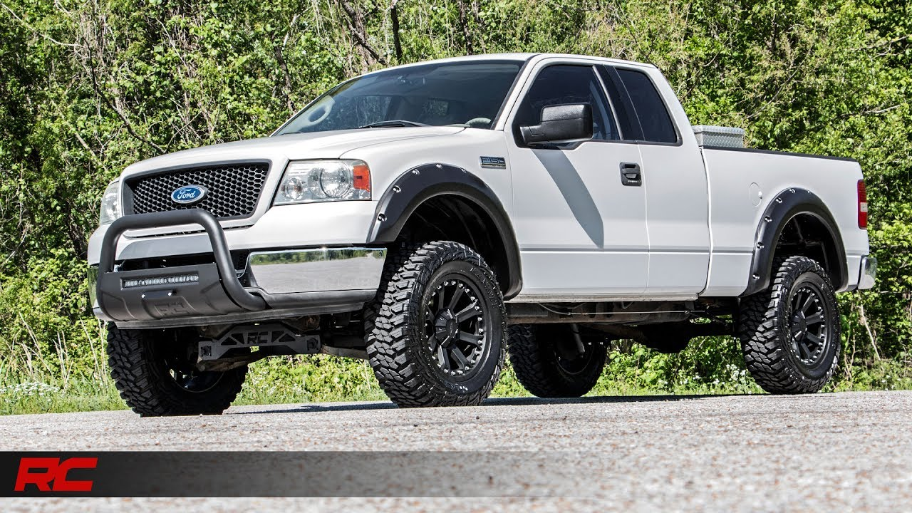 2004 2008 Ford F 150 Riveted Fender Flares By Rough