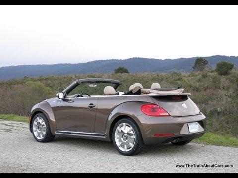 2013 Volkswagen Beetle Convertible Review and Road Test