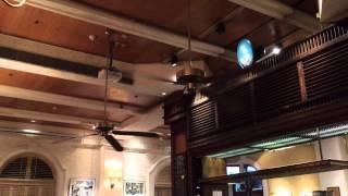 """(Dad's video) SMC """"Park Avenue"""" vintage ceiling fans"""