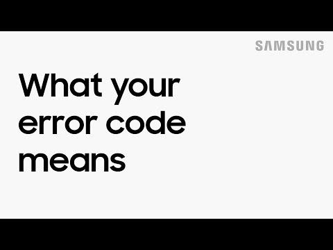 Fix common error codes on your Samsung dishwasher | Samsung US