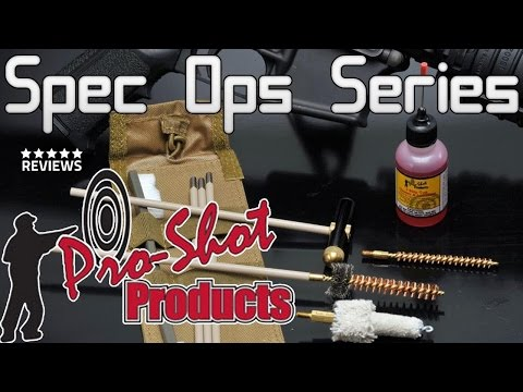 Pro-Shot Spec Ops AR-15 Tactical Cleaning Kit Review
