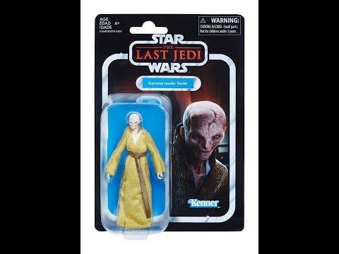 Supreme Leader Snoke The Vingtage Collection ( The Last Jedi ) HD Review.