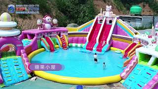 Inflatable water park from ZZPL
