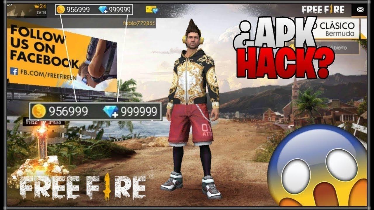 free fire apk hack diamantes infinitos