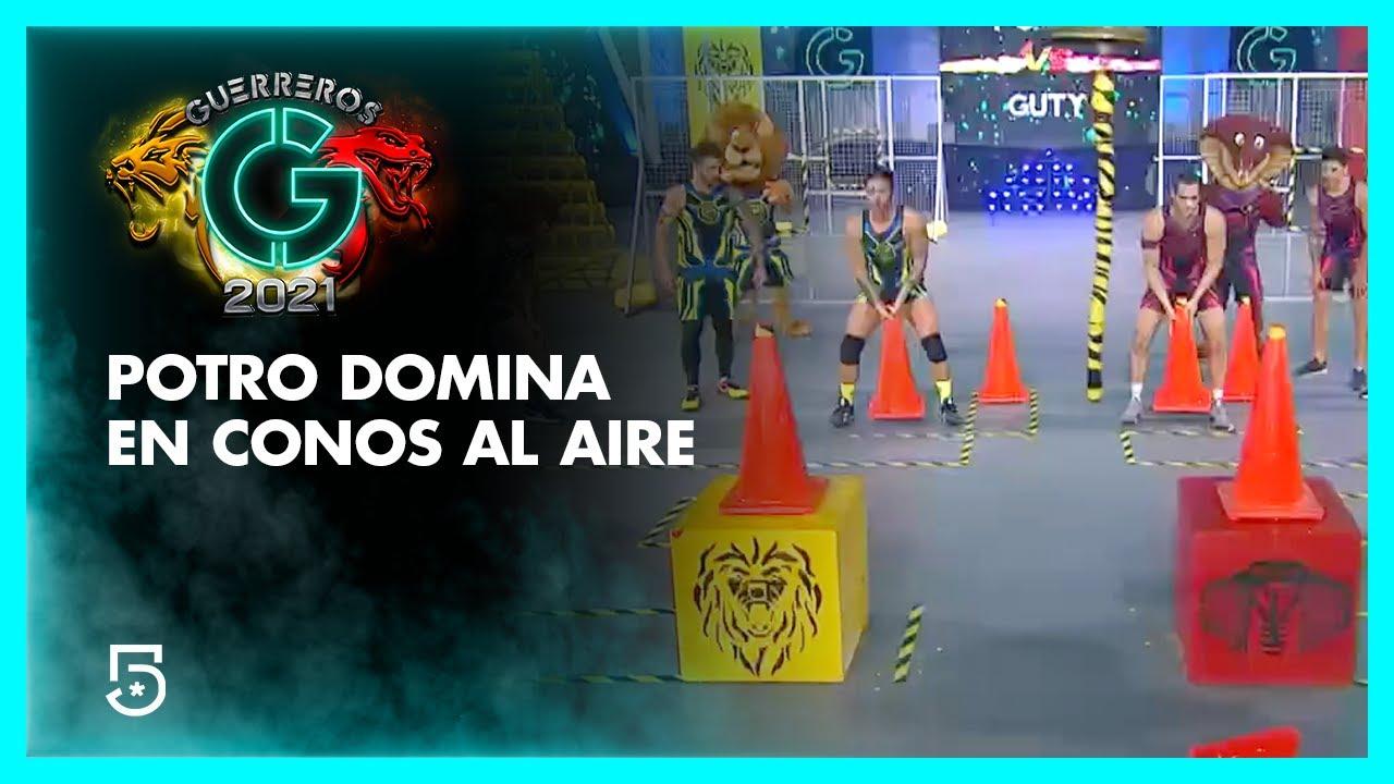 Potro logra dominar conos al aire | #Guerreros2021 | Canal 5