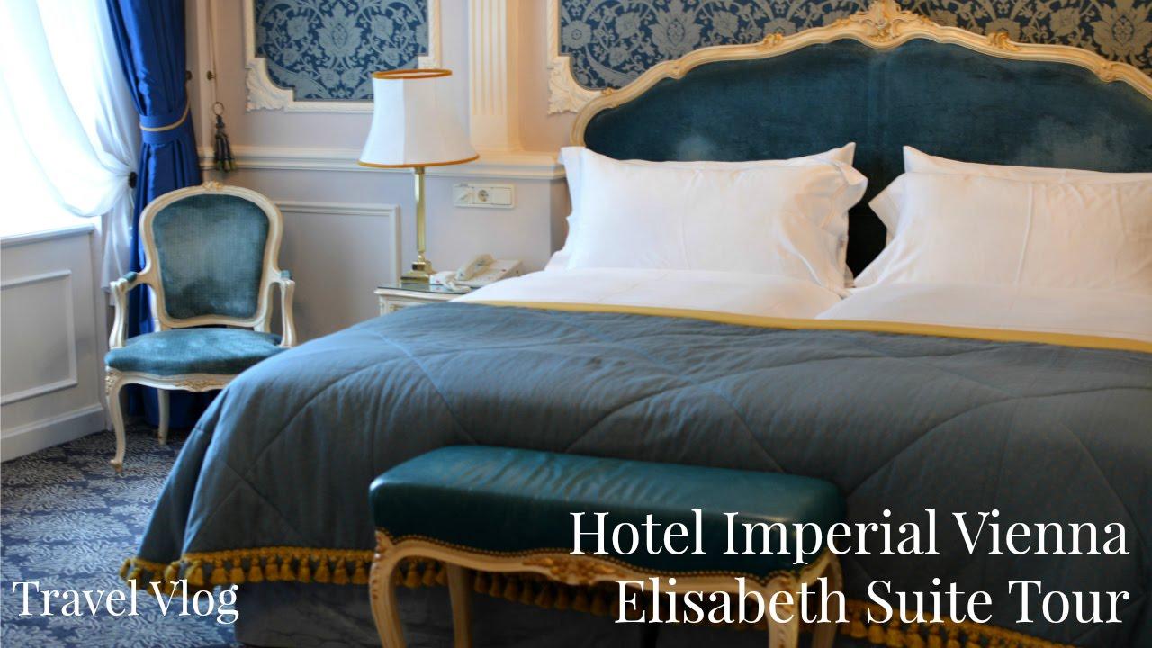 Hotel Imperial Elisabeth Suite Tour Vienna Five Star Hotel Lux