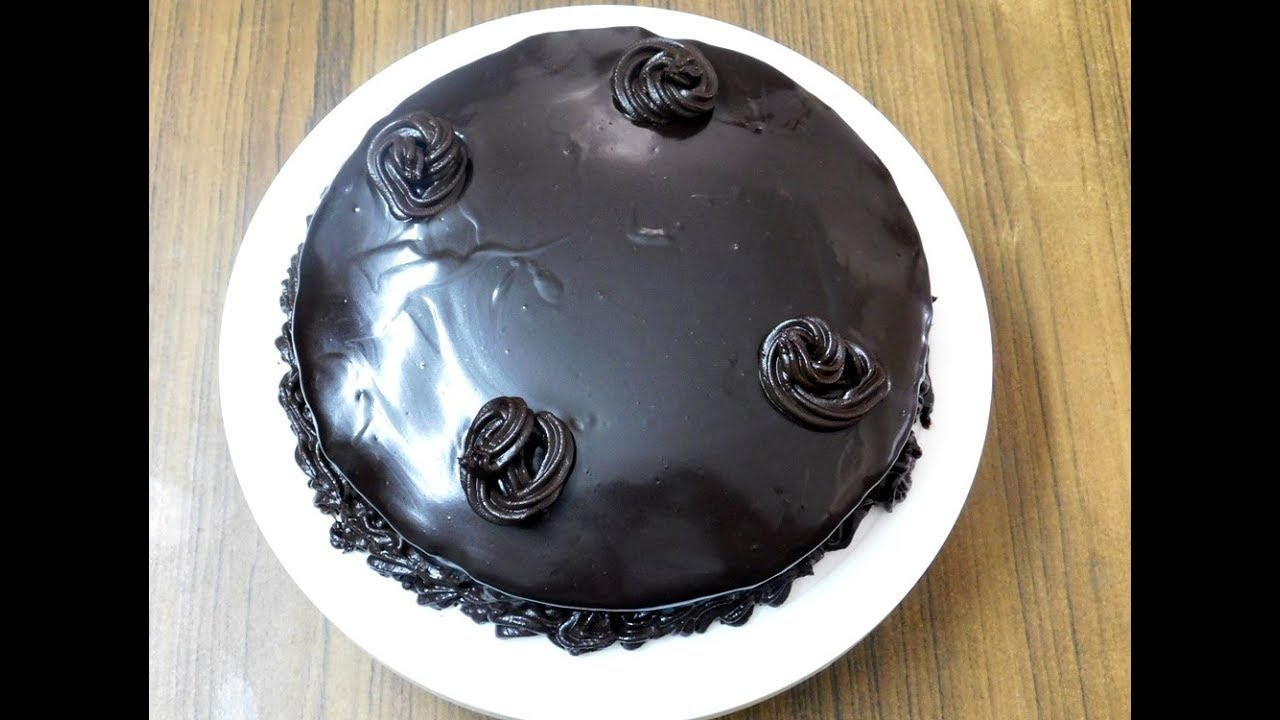 Eggless Whole Wheat Chocolate Cake Recipe