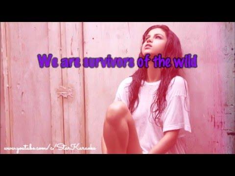 Selena Gomez - Survivors [Karaoke/Instrumental]