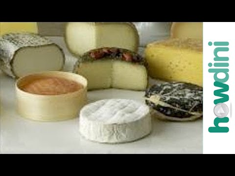 How to create a gourmet cheese plate - YouTube