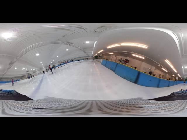 【360°】ショートトラック 桜井雄馬選手 ヘルメットVer.