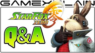 Star Fox Zero Q&A: 50 of YOUR Questions Answered!