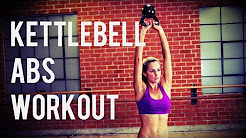 8 Minute Kettlebell Ab Workout to Shape and Sculpt your Abs