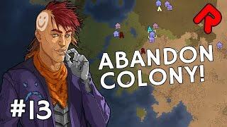 abandon colony our rimworld caravan heads south   let s play rimworld alpha 16 ep 13