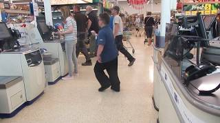 Tesco Dance Beat Self Service Tesco Oakham Rutland 2019 #tescodancebeats
